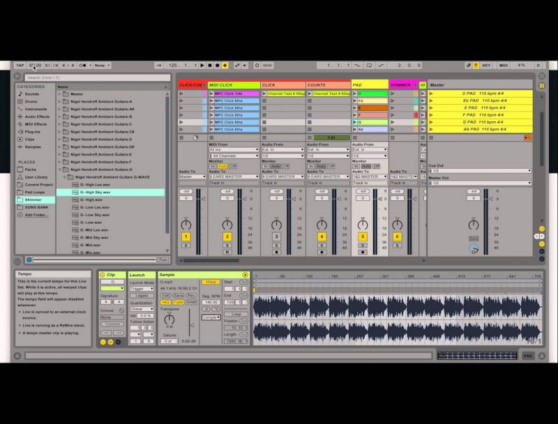 Using Ableton Live in Worship – An Introduction – WeLeadWorship com